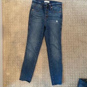 Madewell high waisted jeans